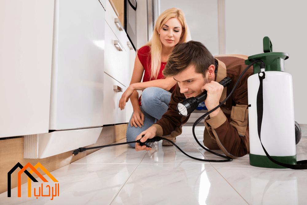 كيفية التخلص من الحشرات المنزلية