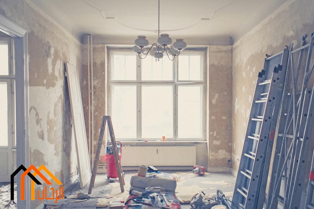 اعادة ترميم المنازل القديمة