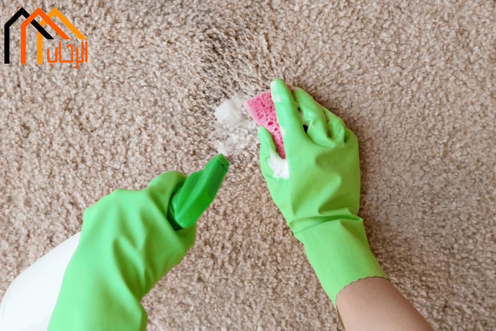 طريقة تنظيف الموكيت