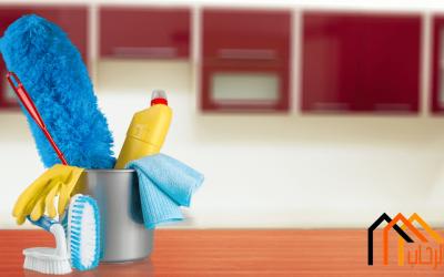 تنظيف المنزل بسرعة
