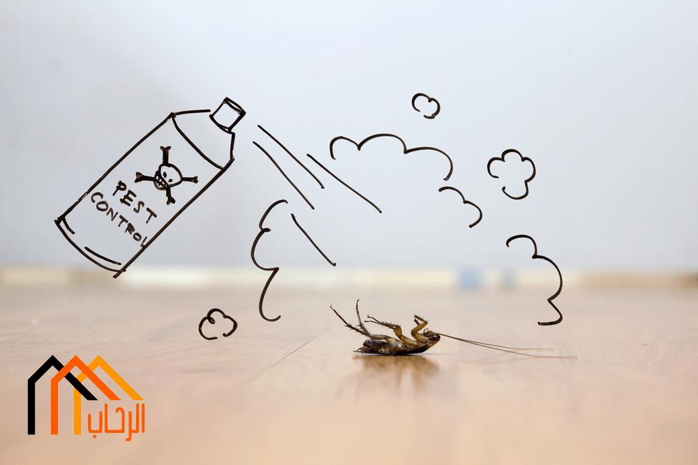 افضل الاساليب للتخلص من الحشرات
